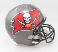 Shaquil Barrett Signed Buccaneers Full-Size Helmet (JSA COA) (See Description) at PristineAuction.com