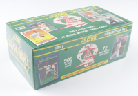 1991 Score Baseball Cards Collector Set with (900) Cards with Chipper Jones #671 RC at PristineAuction.com