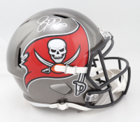 Jason Pierre-Paul Signed Buccaneers Full-Size Super Bowl LIV Champions Logo Speed Helmet (Beckett COA) (See Description) at PristineAuction.com