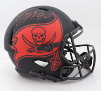 "Jason Pierre-Paul Signed Buccaneers Full-Size Eclipse Alternate Speed Helmet Inscribed ""SB LV Champs"" (Beckett COA) (See Description) at PristineAuction.com"
