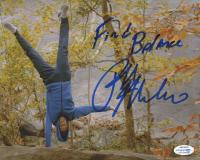 "Ralph Macchio Signed ""Cobra Kai"" 8x10 Photo Inscribed ""Find Balance"" (AutographCOA COA) at PristineAuction.com"