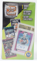 2020 Gems of the Game Football Blaster Box with (6) Packs at PristineAuction.com