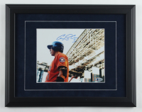 Carlos Correa Signed Astros 14x18 Custom Framed Photo Display (Beckett COA) (See Description) at PristineAuction.com