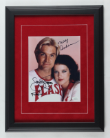 "Sam J. Jones & Melody Anderson Signed ""Flash Gordon"" 14x18 Custom Framed Photo Display Inscribed ""Flash"" (JSA Hologram) (See Description) at PristineAuction.com"