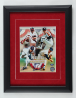 Nolan Ryan Signed 14x18 Custom Framed Photo Display (Ryan Hologram) at PristineAuction.com