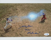 """Mike Moh Signed """"Street Fighter"""" 8x10 Photo Inscribed """"Ryu"""" & """"Hadouken!"""" (AutographCOA COA) at PristineAuction.com"""