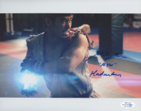 """Mike Moh Signed """"Street Fighter"""" 8x10 Photo Inscribed """"Ryu"""" & """"Hadouken"""" (AutographCOA COA) at PristineAuction.com"""