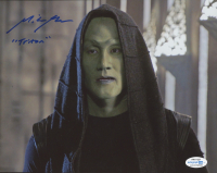 """Mike Moh Signed """"Marvel's The Inhumans"""" 8x10 Photo Inscribed """"Triton"""" (AutographCOA COA) at PristineAuction.com"""