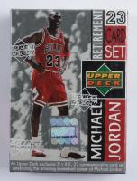 Michael Jordan 1999 Upper Deck Retirement Set of (23) Cards at PristineAuction.com