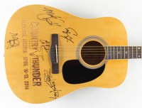 "38"" Acoustic Guitar Signed by (5) with Miranda Lambert, Mark Chestnutt, Charlie Worsham, Preston Brust, Chris Lucas & Craig Morgan (JSA ALOA) (See Description) at PristineAuction.com"