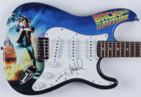 "Huey Lewis Signed ""Back To The Future"" Electric Guitar (JSA COA) (See Descritpion) at PristineAuction.com"