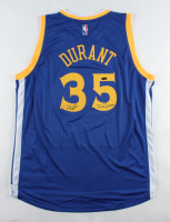 "Kevin Durant Signed LE Warriors Jersey Inscribed ""Dub Nation"" (Panini COA) at PristineAuction.com"