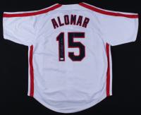 """Sandy Alomar Jr. Signed Jersey Inscribed """"90 ROY"""" (JSA COA) (See Description) at PristineAuction.com"""