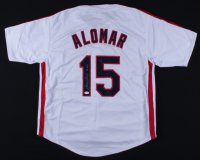 "Sandy Alomar Jr. Signed Jersey Inscribed ""90 ROY"" (JSA COA) (See Description) at PristineAuction.com"