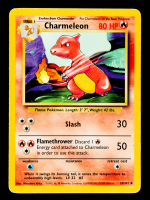 Charmeleon 1999 Pokemon Base Unlimited #24 at PristineAuction.com