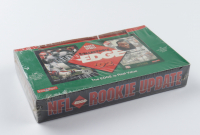 1992 Collector's Edge Rookie Update Football Wax Box With (24) Packs (See Description) at PristineAuction.com