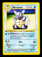 Wartortle 1999 Pokemon Base 1st Edition Shadowless #42 at PristineAuction.com