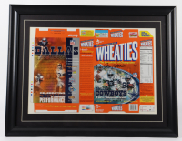 Drew Pearson, Roger Staubach & Tony Dorsett Signed 24x31 Custom Framed Wheaties Cereal Box Display (Beckett LOA & UDA COA) at PristineAuction.com