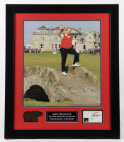 Jack Nicklaus Signed 23x27 Custom Framed Index Card Display (Beckett LOA & Nicklaus Hologram) at PristineAuction.com