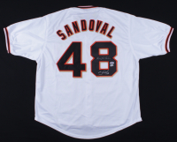 "Pablo Sandoval Signed Jersey Inscribed ""Kung Fu Panda"" (PSA COA & MLB Hologram) (See Description) at PristineAuction.com"