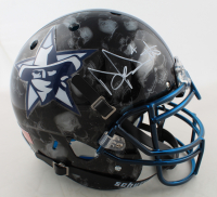 Dak Prescott Signed Full-Size Authentic On-Field Hydro-Dipped Helmet (Beckett COA & Prescott Hologram) at PristineAuction.com