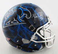 Luke Kuechly Signed Full-Size Authentic On-FIeld Hydro-Dipped Helmet (JSA COA) at PristineAuction.com