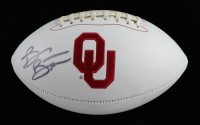 Brian Bosworth Signed Oklahoma Sooners Logo Football (JSA COA) (See Description) at PristineAuction.com