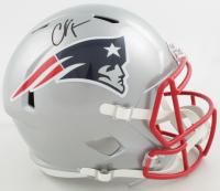 Chad Johnson Signed Patriots Full-Size Speed Helmet (PSA COA) at PristineAuction.com