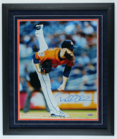 Dallas Keuchel Signed Astros 22x26 Custom Framed Photo Display (Tristar Hologram) (See Description) at PristineAuction.com
