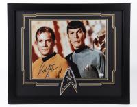 "William Shatner Signed ""Star Trek"" 18x22 Custom Framed Photo Display (JSA COA) at PristineAuction.com"