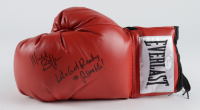 """Michael Buffer Signed Everlast Boxing Glove Inscribed """"Let's Get Ready to Rumble!"""" (JSA COA) (See Description) at PristineAuction.com"""