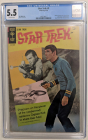 "1968 ""Star Trek"" Issue #2 Gold Key Comic Book (CGC 5.5) at PristineAuction.com"