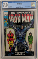 """1969 """"The Invincible Iron Man"""" Issue #12 Marvel Comic Book (CGC 7.0) at PristineAuction.com"""