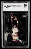 Michael Jordan 1998-99 Black Diamond #2 (BCCG 10) at PristineAuction.com