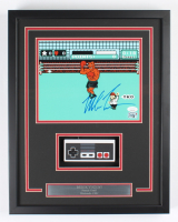 """Mike Tyson Signed """"Punch-Out!!"""" 15x19 Custom Framed Photo Display with Controller (JSA COA & Fiterman Sports Hologram) at PristineAuction.com"""