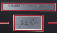 Khabib Nurmagomedov UFC 16.5x18.5 Custom Framed Photo Display at PristineAuction.com