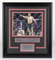 Khabib Nurmagomedov UFC 16.5x18.5 Custom Framed Photo Display at PristineAuction.com