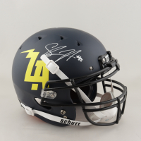 Shawne Merriman Signed Full-Size Authentic On-Field Helmet (Beckett COA) at PristineAuction.com