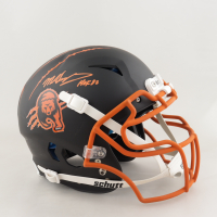 """Mike Singletary Signed Full-Size Authentic On-Field Vengeance Helmet Inscribed """"HOF 98"""" (Beckett COA) (See Description) at PristineAuction.com"""