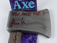 """Ari Lehman Signed """"Friday the 13th"""" Axe Inscribed """"You Are Axed!"""" (JSA COA) at PristineAuction.com"""