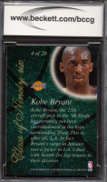 Kobe Bryant 1996-97 Flair Showcase Class of '96 #4 (BCCG 10) at PristineAuction.com