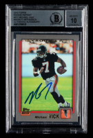 Michael Vick Signed 2012 Topps Rookie Reprint #311 (BGS Encapsulated) at PristineAuction.com
