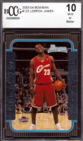LeBron James 2003-04 Bowman #123 RC (BCCG 10) at PristineAuction.com