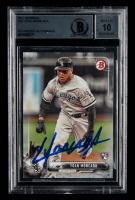 Yoan Moncada Signed 2017 Bowman #25 RC (BGS Encapsulated) at PristineAuction.com