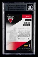 Dennis Rodman Signed 2017-18 Panini Essentials Essential Legends #2 (BGS Encapsulated) at PristineAuction.com