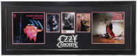Ozzy Osbourne Signed 20.5x50.5 Custom Framed Photo Display (JSA COA) at PristineAuction.com