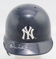 Derek Jeter & Jorge Posada Signed Yankees Mini Batting Helmet (JSA LOA) at PristineAuction.com