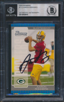 Aaron Rodgers Signed 2005 Bowman #112 RC (BGS Encapsulated) at PristineAuction.com