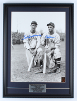 Ted Williams & Bobby Doerr Signed Red Sox 19x25 Custom Framed Photo Display (Williams COA) at PristineAuction.com