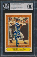 Mickey Mantle Signed 1985 Woolworth's Topps #23 (BGS Encapsulated) at PristineAuction.com